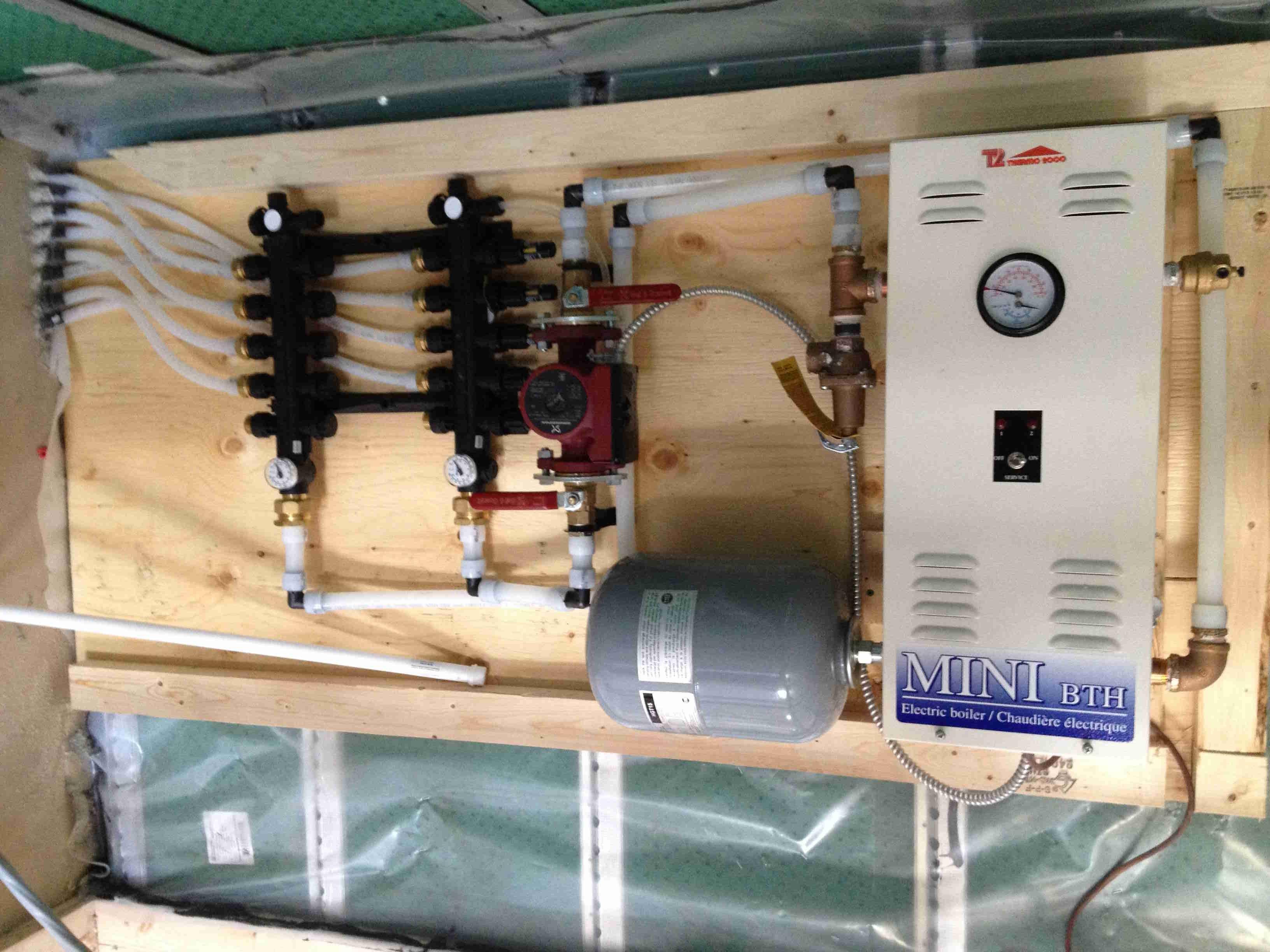 tankless boiler heater